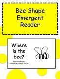 Bee Shape Emergent Reader