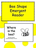 Bee Shape Emergent Reader