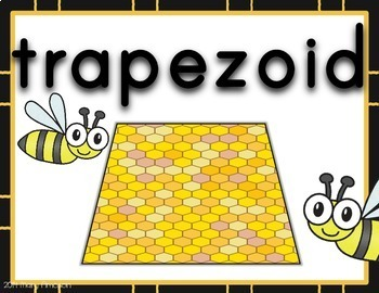 Bee Shape Posters
