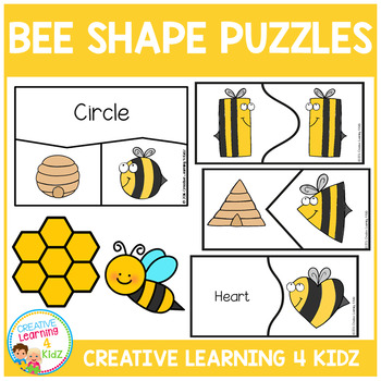 Bee Shape Puzzles