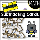 Bee Subtracting Cards
