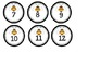 Bee Tags and Labels (editable)