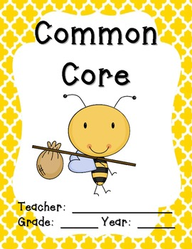 "Bee Teacher Binder Covers and 2"" Spines"