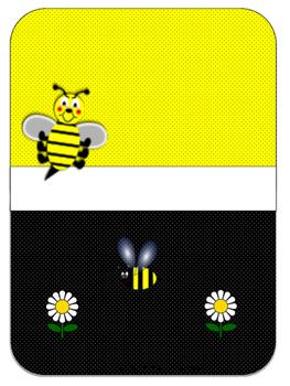 Bee Teacher Binder Set