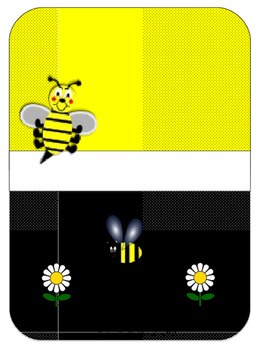 Bee Teacher Binder Set Editable