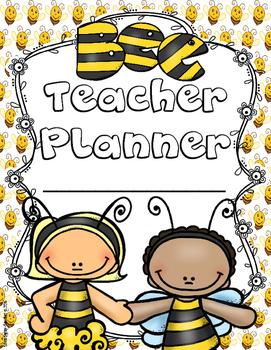 Bee Teacher Lesson Planner, Grade Book, and Calendar