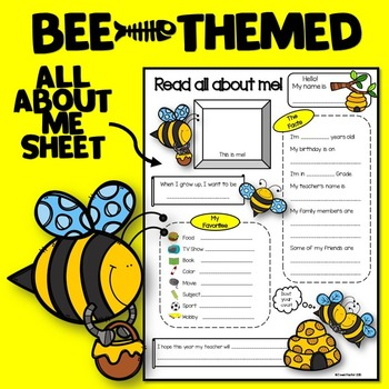 All About Me Bee Theme