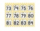 Bee Theme: A Hundred Numbers for the Pocket Chart