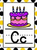Bee Theme Alphabet Cards