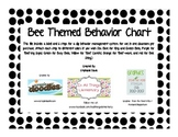 Bee Theme Behavior Chart