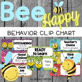 Bee Theme Behavior Clip Chart {Editable}