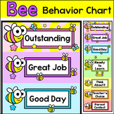 Behavior Chart - Bee Theme Classroom Decor