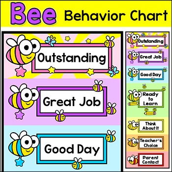 Behavior Chart , Bee Theme Classroom Decor