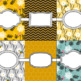 Bee Theme Binder Covers 2