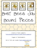 """Bee Theme """"Busy Bees"""" Job Board Pieces"""