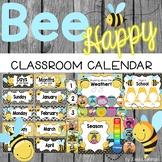 Bee Theme Calendar Set {Editable}