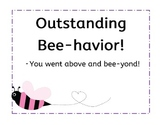 Bee Theme Classroom Behavior System