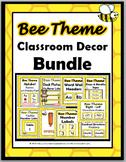 Bee Theme Classroom Decor Bundle - More Than 50% Discount