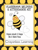 Bee Classroom Helpers & Attendance Kit