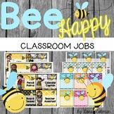 Bee Theme Classroom Jobs {Editable}