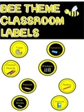 Black and Yellow Classroom Labels!!! 2 Sets in different colors!!
