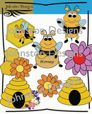 Bee Theme Clipart