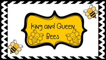Bee Theme Clipchart