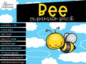 Bee Theme Decor {Expansion Pack}