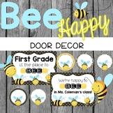 Bee Theme Door Decor {Editable}