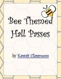 Bee Theme Hall Passes