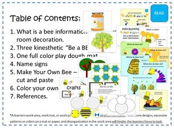Bee Themed Activities