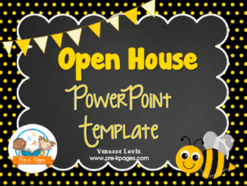 Powerpoint templates for school presentations teaching resources bee theme open house back to school powerpoint template personalize it toneelgroepblik Choice Image