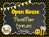 Bee Theme Open House ~ Back-to-School ~ PowerPoint Template {personalize it}