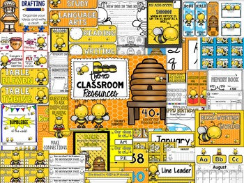 Bees Theme Decor Pack