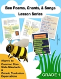 Bee Theme Poems, Chants, and Songs Multi-Week Lesson Plan