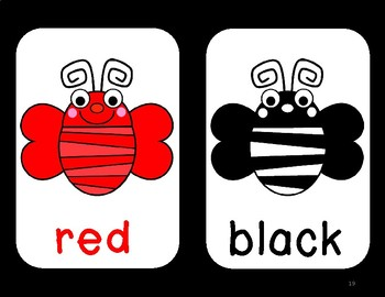Bee Theme Shapes and Colors