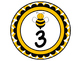 Bee Theme Table Numbers 1-8