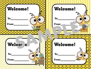 Bee Theme Welcome Tags