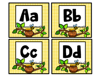 Bee-Themed ABC