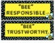 Bee Themed Back to School Packet