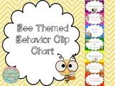 Bee Themed Behavior Chart