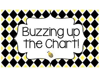 Bee Themed Behavior Clip Chart