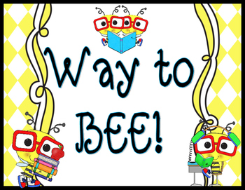 Bee Themed- Behavior Clip Chart
