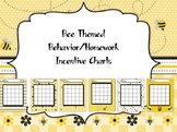 Bee Themed Behavior/Homework Incentive Charts