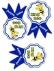 Bee Themed Birthday Ribbons
