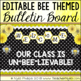 Bee Themed Bulletin Board Kit - Editable