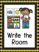 Bee  Themed Center Signs and Center Management Chart Cards