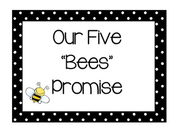 Bee Themed Class Rules