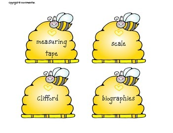 Bee Themed Classroom Bundle