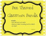Bee Themed Classroom Bundle